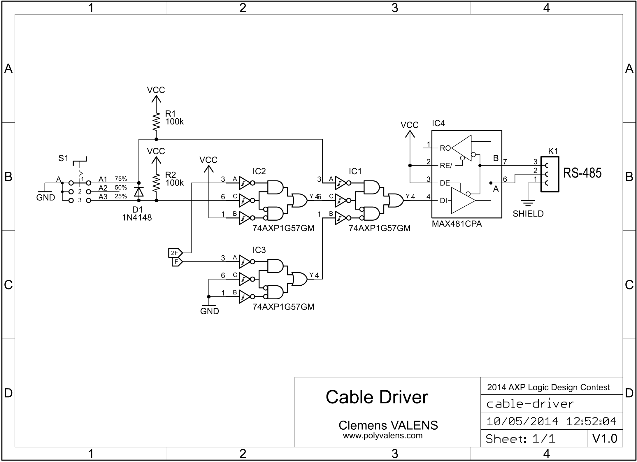 Multi Purpose Pwm Wave Shaper Polyvalens Rs 485 2 Wire Wiring Diagram Over