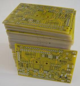 50 exemplaires de la platine polyvalente v1.2