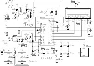 Le schéma de la carte V1.2.